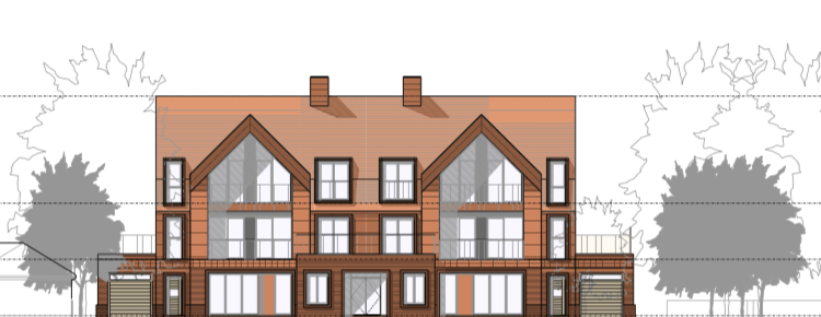 Luxury apartments planned for Meols Drive