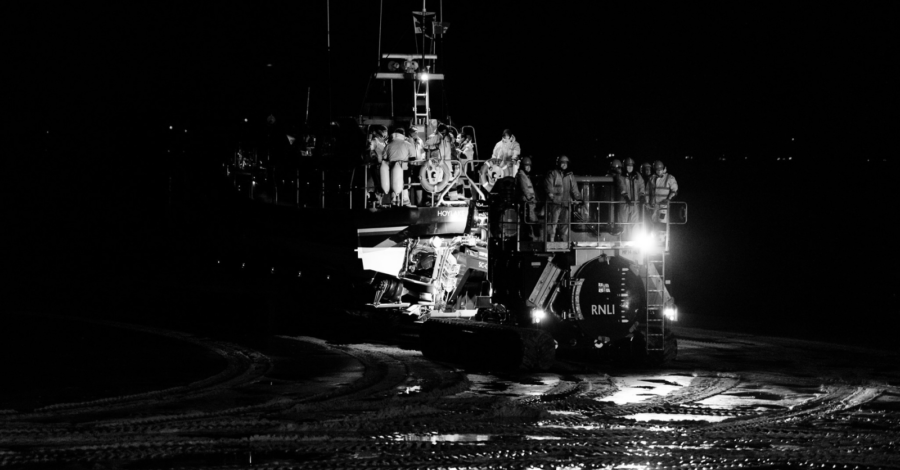 Hoylake lifeboat joins search for missing fisherman in Irish Sea