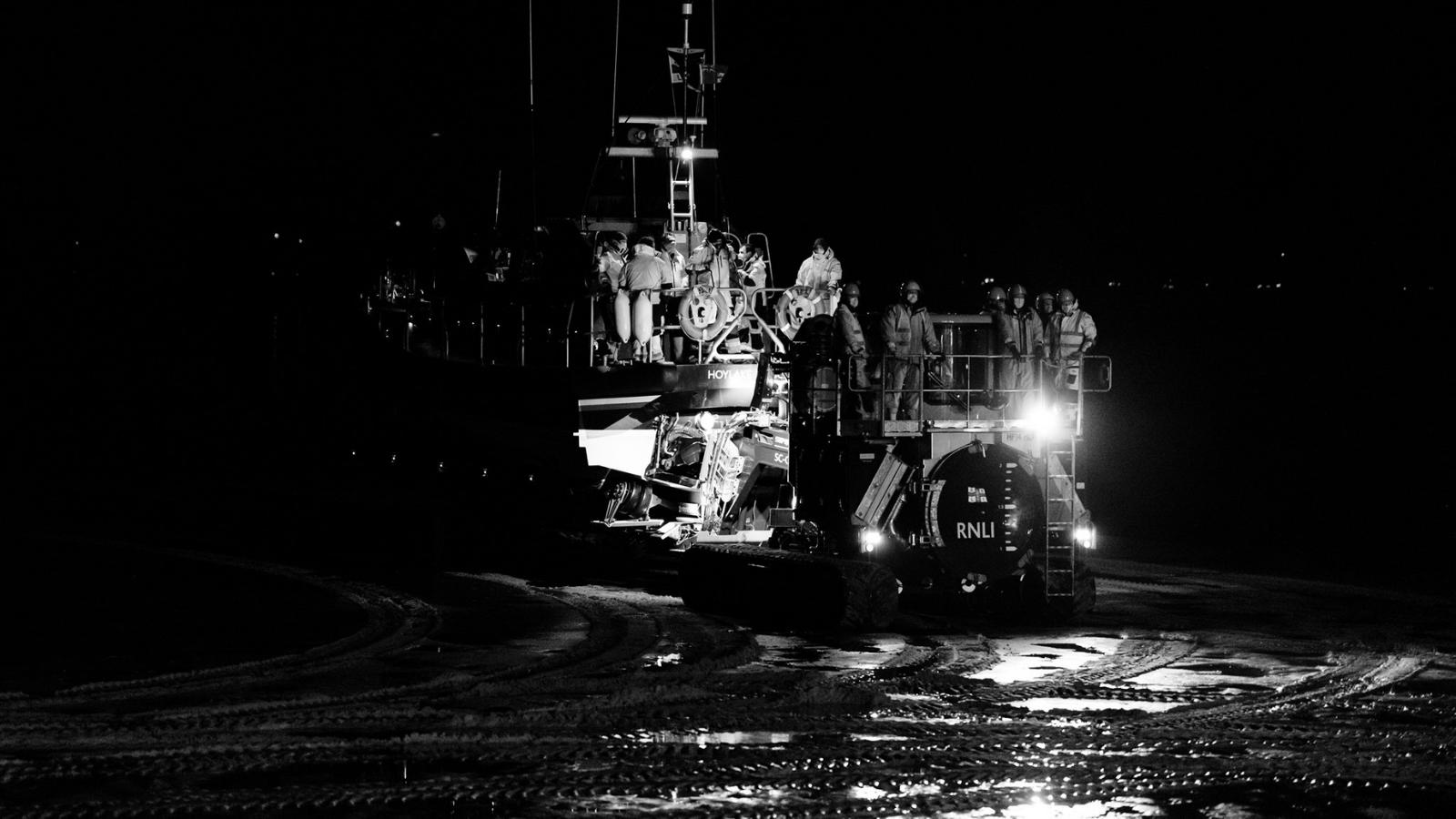Hoylake lifeboat featured image. Photo: David Edwards