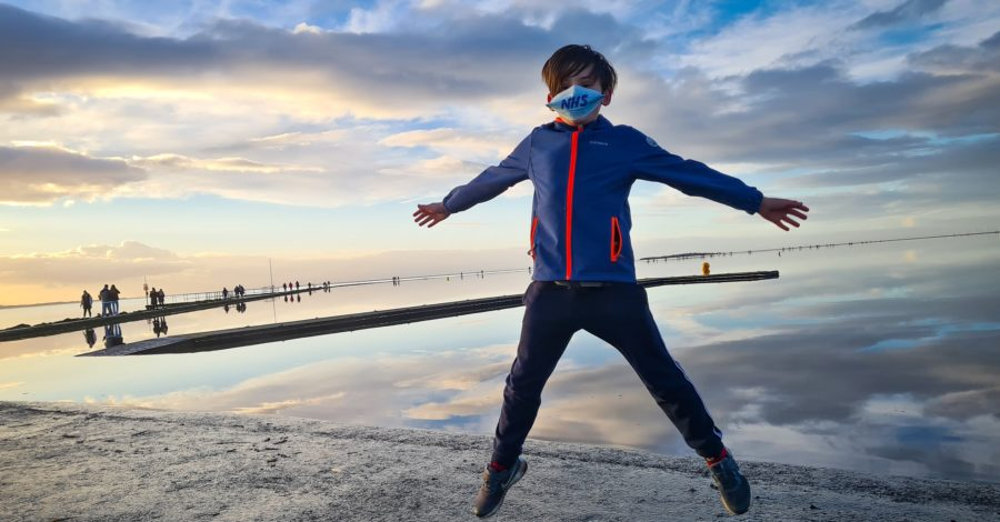 Meet the 10-year-old running 100 laps of the Marine Lake in memory of Captain Sir Tom Moore