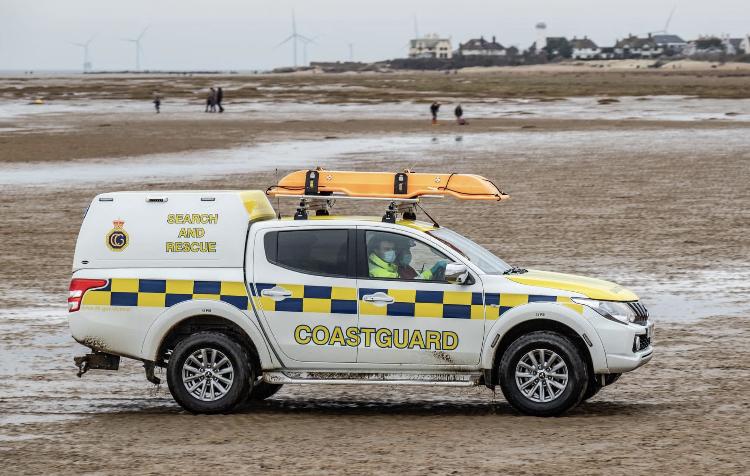 Wirral Coastguard. Photo credit: David Edwards