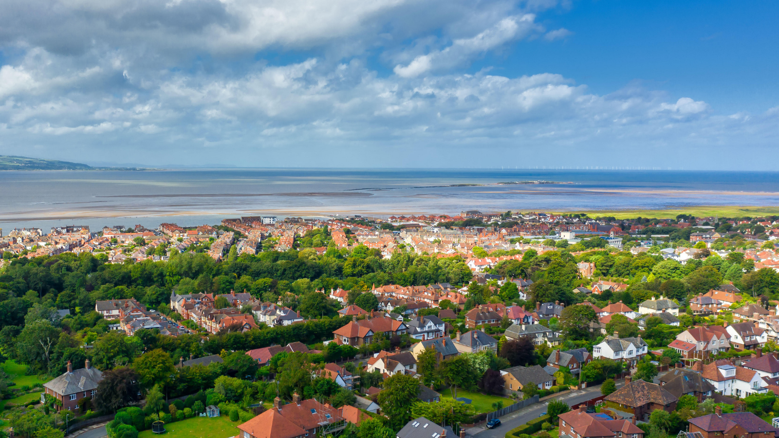 West Kirby drone featured image. Photo: Nigel McIntyre