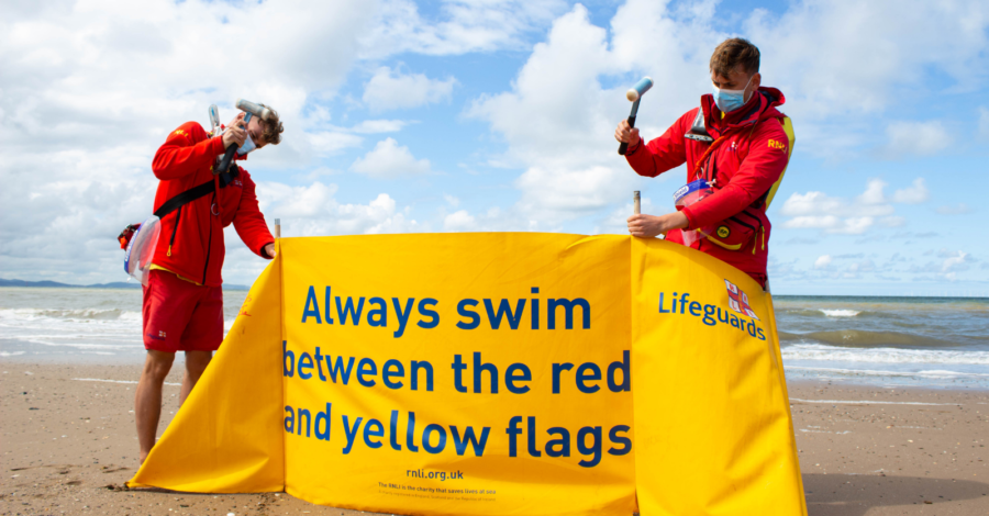 Could you be a lifeguard for West Kirby beach?