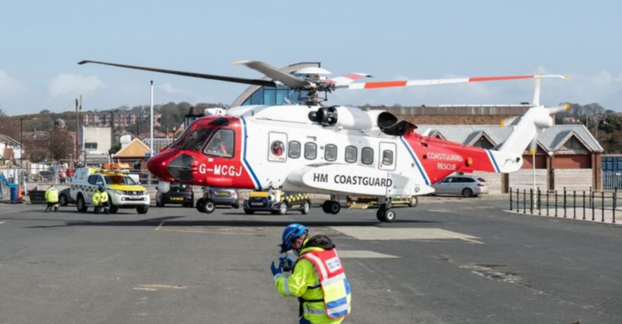 Coastguard rescue helicopter featured image