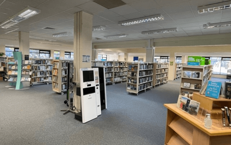 West Kirby Library reopens