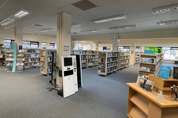 West Kirby Library interior