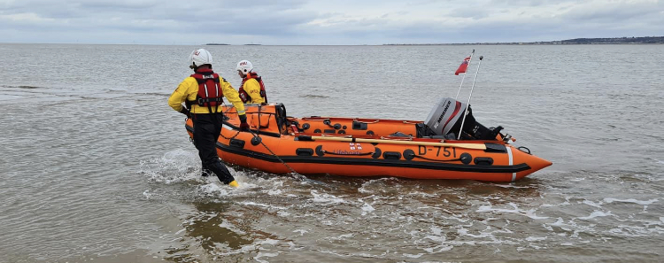 High tide leads to busy day for lifeboat crew