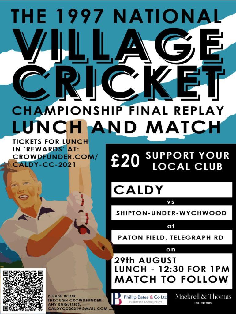 Caldy Cricket Club championship final replay