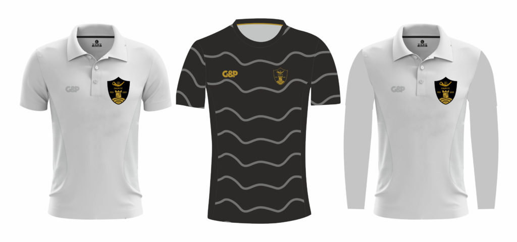 Caldy Cricket Club's new kit