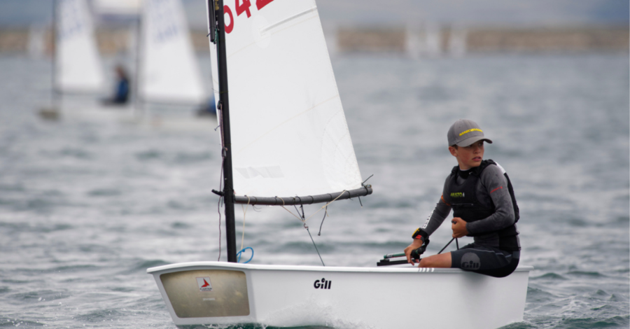 Patrick Bromilow winning sailing competition