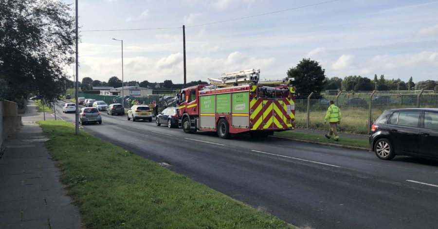 WW2 bomb found in skip at recycling site