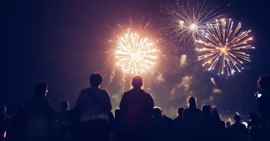 West Kirby fireworks