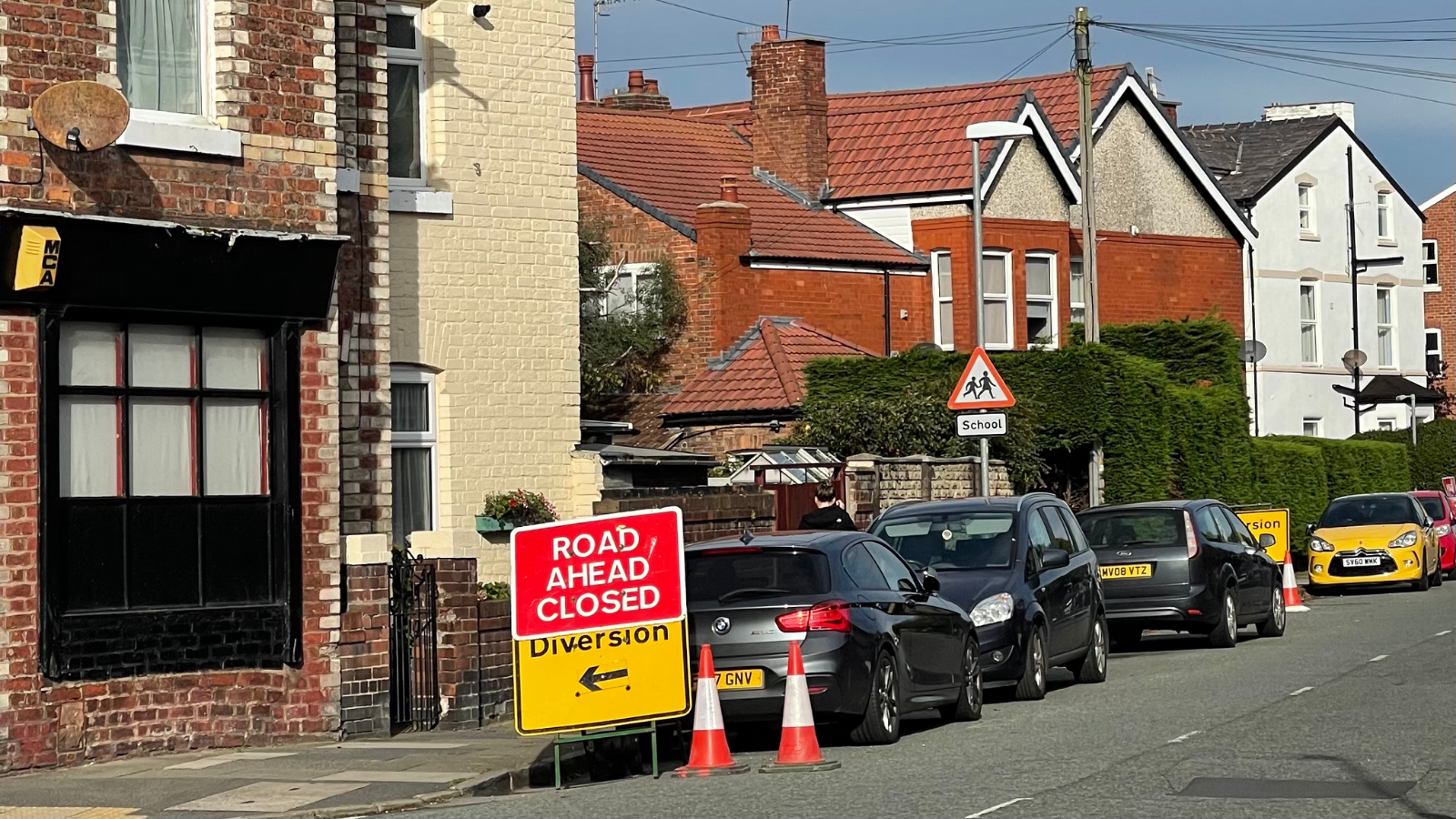West Kirby roadworks featured image